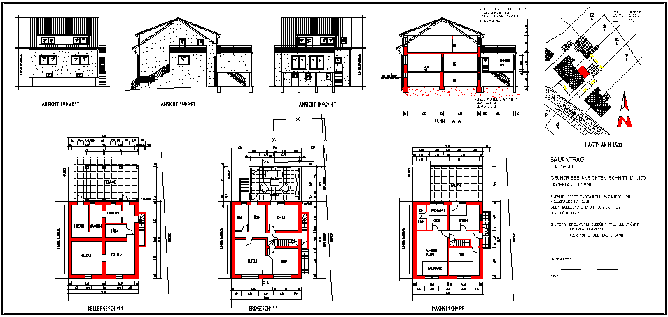 Baupl ne kdbs konstruktions und dienstleistungsb ro for Bauplan wohnhaus